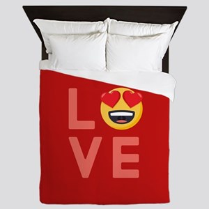 Love Emoji Queen Duvet