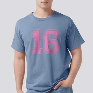 Pink Retro Style 16 Mens Comfort Colors Shirt