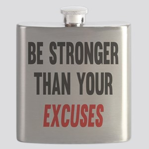 Be Stronger Than Your Excuses Flask