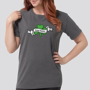 Shamrock CUSTOM TEXT Womens Comfort Colors Shirt