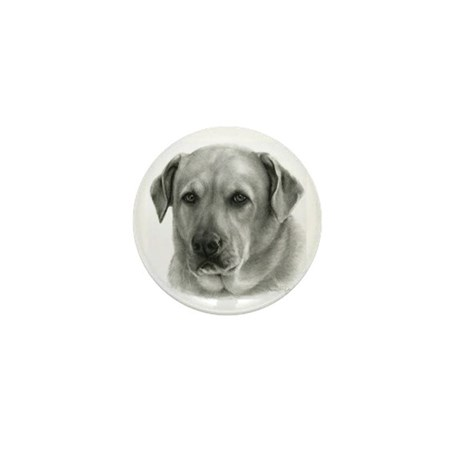 Lindsay - Yellow Lab Mix Mini Button (10 pack)
