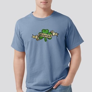 shamrock-boston-worn Mens Comfort Colors Shirt