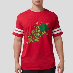 SHAMROCK-SWIRL Mens Football Shirt