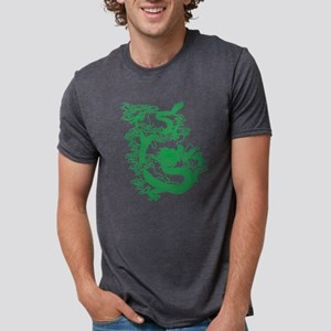dragon_green Mens Tri-blend T-Shirt
