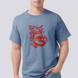 dragon_red Mens Comfort Colors Shirt