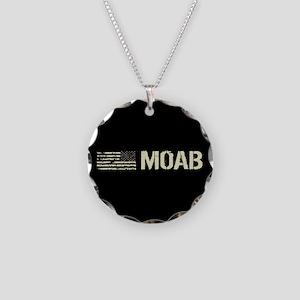 Black Flag: Moab Necklace Circle Charm