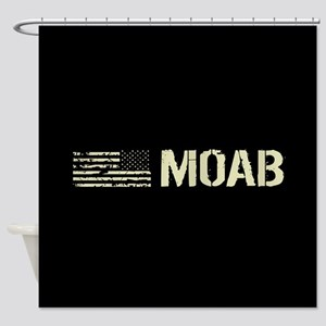 Black Flag: Moab Shower Curtain