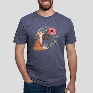 MONOGRAM Woodland Fox Mens Tri-blend T-Shirt