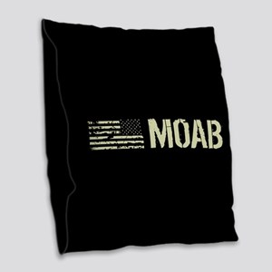 Black Flag: Moab Burlap Throw Pillow