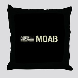 Black Flag: Moab Throw Pillow