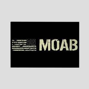 Black Flag: Moab Rectangle Magnet