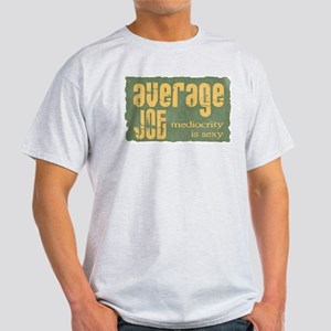 Average Joe Grunge Ash Grey T-Shirt