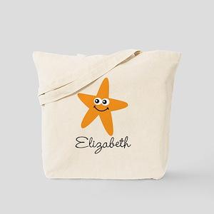 Personalized Starfish Tote Bag