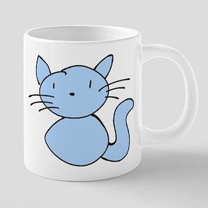 Boo Kitty 20 oz Ceramic Mega Mug