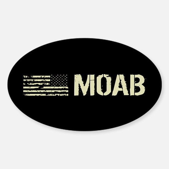 Black Flag: Moab Sticker (Oval)