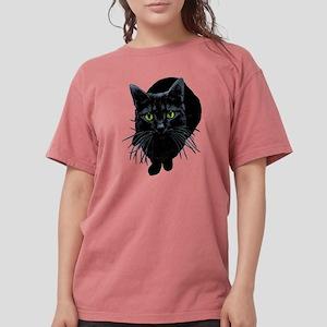 black-kitty Womens Comfort Colors Shirt