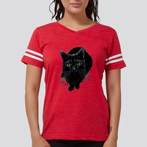 black-kitty Womens Football Shirt