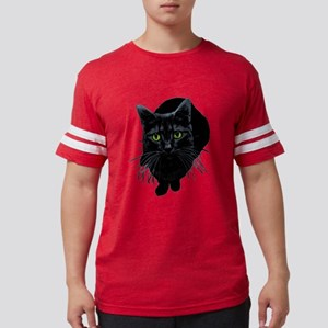 black-kitty Mens Football Shirt