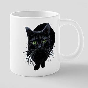 black-kitty 20 oz Ceramic Mega Mug