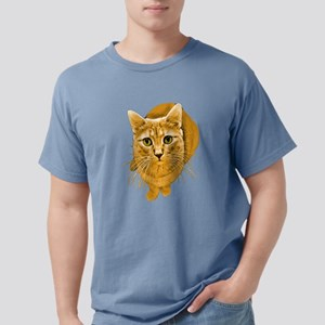 orange-kitty Mens Comfort Colors Shirt