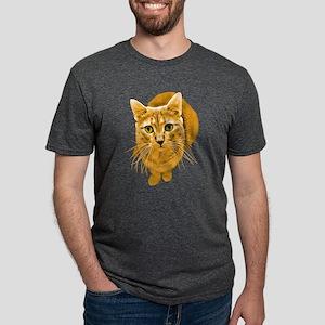 orange-kitty Mens Tri-blend T-Shirt