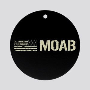 Black Flag: Moab Round Ornament