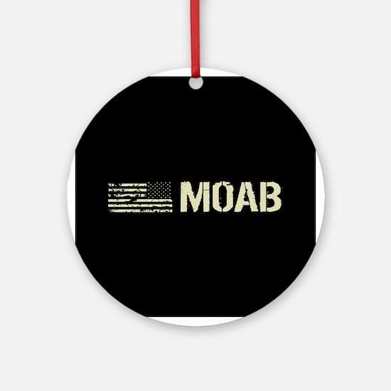 Black Flag: Moab Round Ornament