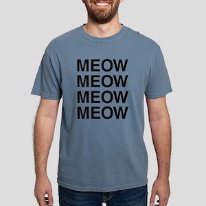 Meow Meow Meow Meow Mens Comfort Colors Shirt