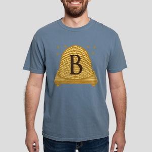 MONOGRAM Bee Hive Mens Comfort Colors Shirt