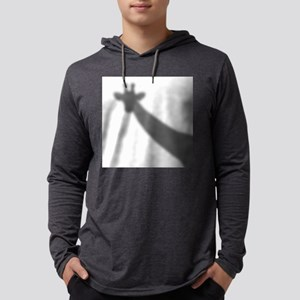 Giraffe Shadow Mens Hooded Shirt