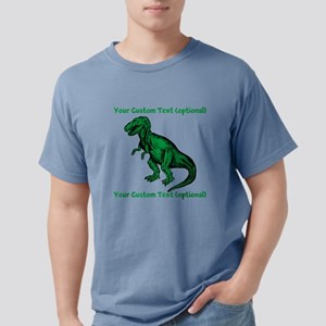 CUSTOM TEXT T-Rex Mens Comfort Colors Shirt