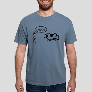 moo-cow Mens Comfort Colors Shirt