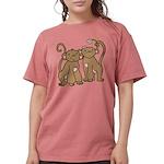 monkey-couple.png Womens Comfort Colors Shirt