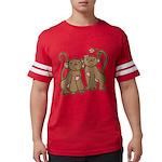 monkey-couple.png Mens Football Shirt