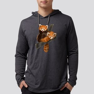 red-pandas_new Mens Hooded Shirt