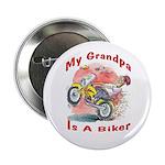 Grandpa Biker Button