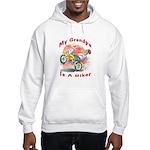 Grandpa Biker Hooded Sweatshirt
