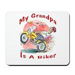 Grandpa Biker Mousepad