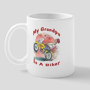 Grandpa Biker Mug