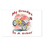 Grandpa Biker Postcards (Package of 8)