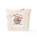 Grandpa Biker Tote Bag