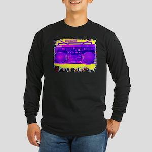 I love Hip Hop Long Sleeve Dark T-Shirt
