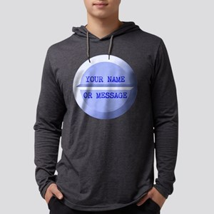 PERSONALIZED Pill Blue Mens Hooded Shirt