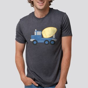 Little Cement Truck Mens Tri-blend T-Shirt