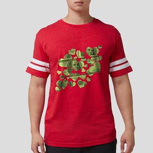 100-dollar-hearts Mens Football Shirt