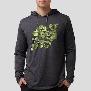 100-dollar-hearts Mens Hooded Shirt