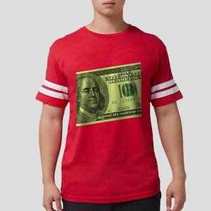 100-dollar-closeup Mens Football Shirt