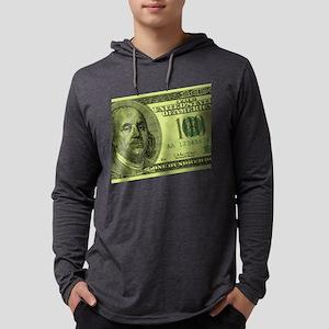 100-dollar-closeup Mens Hooded Shirt