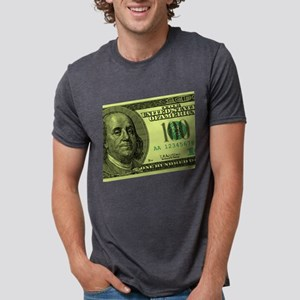100-dollar-closeup Mens Tri-blend T-Shirt