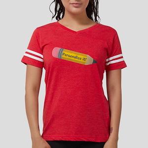 PERSONALIZED Cute Pencil Womens Football Shirt